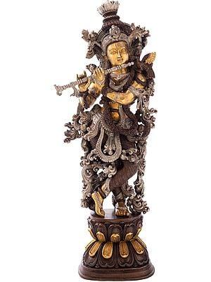 Krishna, The Resplendence Of The Divine Flutist