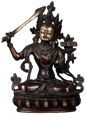 Tibetan Buddhist Deity, The Serene Manjushri