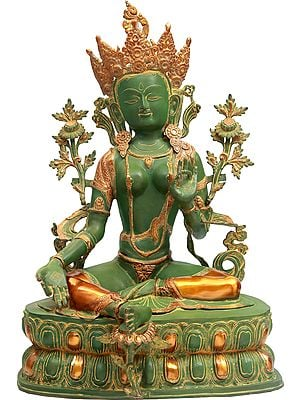 The Majestic Green Tara