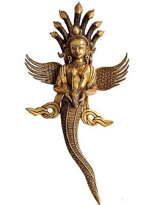 Naga-Kanya Wall-hanging, To Ward Off Adharm