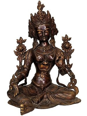 The Bejewelled Green Tara
