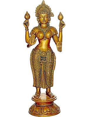 Goddess Lakshmi, Of The Resplendent Skin