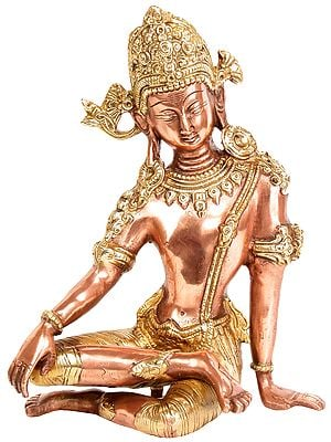 The Delicately Seated Indra