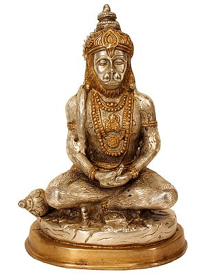 The Meditating Hanuman