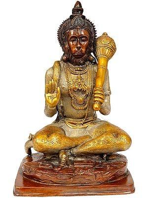 Hanuman Blessing His Devotees