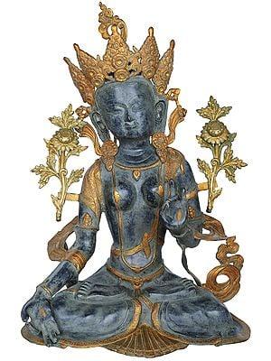 Saptalochani White Tara - Tibetan Buddhist