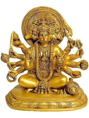 Panchamukhi Hanuman, Victor Over Ahiravana