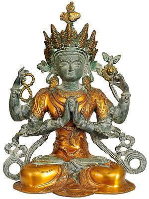 Tibetan Buddhist Deity Chenrezig