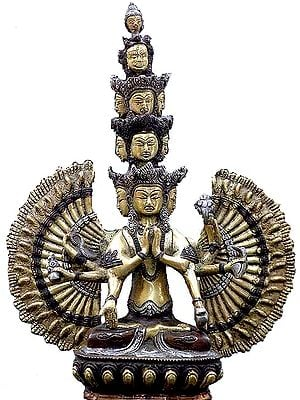 The Glorious Eleven-headed Avalokiteshvara