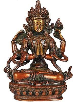 Chenrezig, Shadakshari Lokeshvara (Tibetan Buddhist Deity)