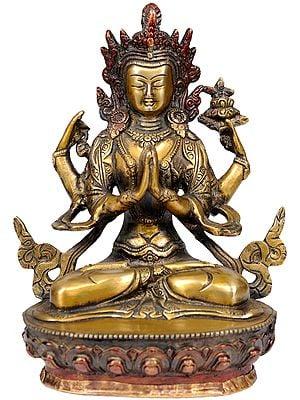 Chenrezig (Shadakshari Lokeshvara), Most Popular Tibetan Deity