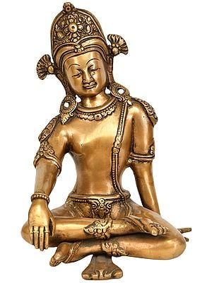 Seated Indra, A Vedic Deity