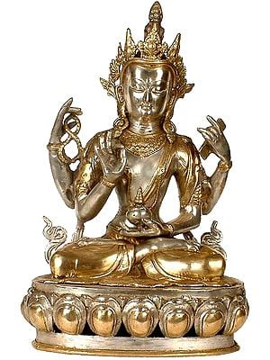 The Buddhist Deity, A Composite Image