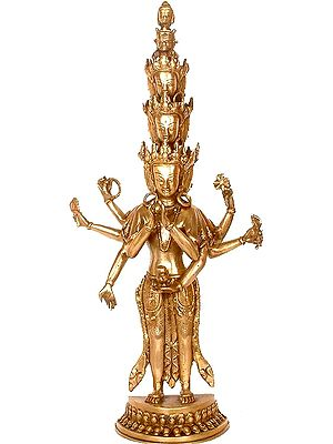 The Eleven-headed, The Thousand-armed Avalokiteshvara