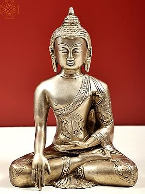 Buddha, His Hand In Bhumisparsha Mudra