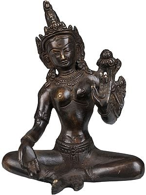 The Stately Green Tara, Seated