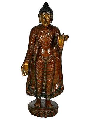Standing Mendicant Buddha