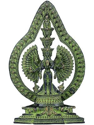 Tibetan Buddhist Avalokiteshvara, The Eleven-headed, The Thousand-armed