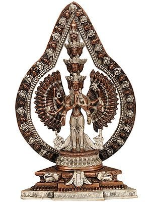 Striking Aureole Lord Avalokiteshvara