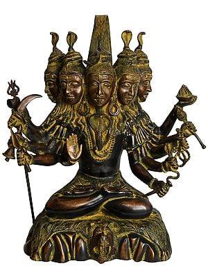 Panchamukha Gangadhara Shiva