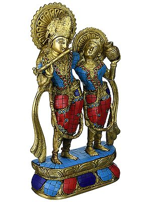 Radha-Krishna, Superbly Content In Each Other's Company
