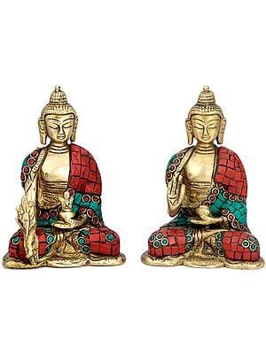 Medicine Buddha Duo