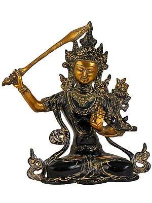 (Tibetan Buddhist Deity) Manjushri - Bodhisattva of Transcendent Wisdom