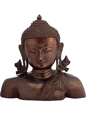 Monotone Buddha Bust, A Wall-hanging