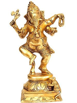 Ganesha, In The Midst Of A Celebratory Dance Ritual