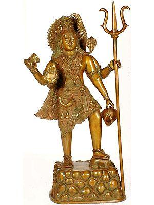 Lord Shiva on Symbolic Mount Kailash