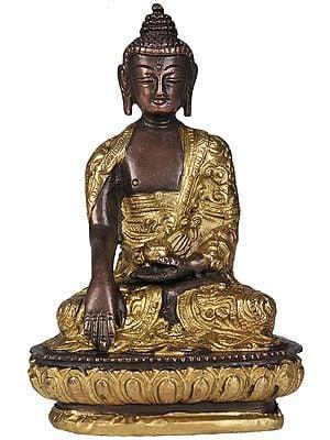 Bhumisparsha Buddha, Meditative Bliss On His Brow