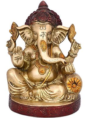 Lord Ganesh Ganesha Beautiful Brass Statues