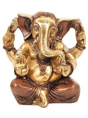 Seated Ganesha, Blessing His Devotees