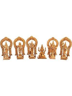 Six Padi Murugan  - Karttikeya's Six Abodes