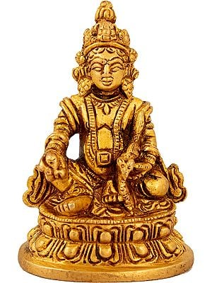 Seated Kubera (Tibetan Buddhist Deity)