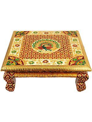Decorated Puja Chowki