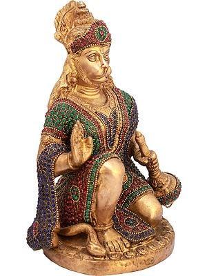 Hanuman Ji Granting Abhaya