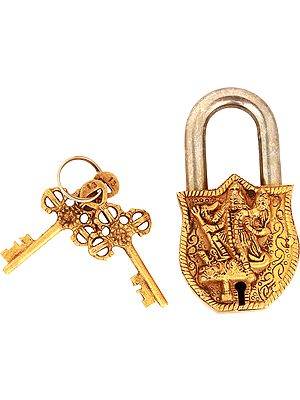 Goddess Kali Temple Lock