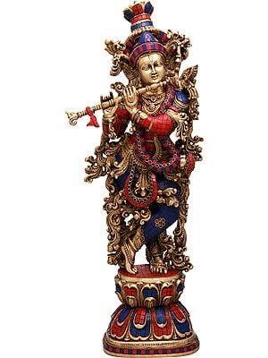 Large Size Krishna - The Divine Flutist