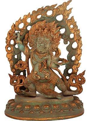 Vajrapani in the Warrior Pose