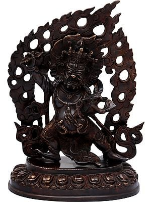 Vajrapani in the Warrior Pose