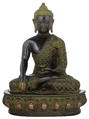 Buddha Seated in Bhumisparsha Mudra