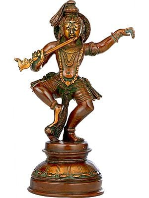 Nrtya Lord Krishna