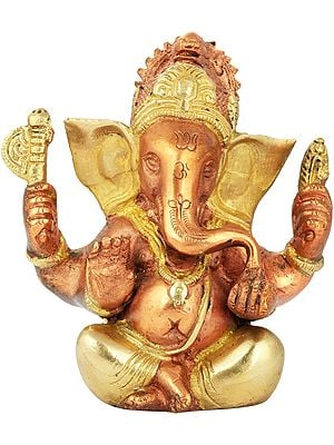 Small Ganesha with Large Ears