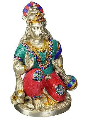 Seated Hanuman, Of Great Stateliness And Strength