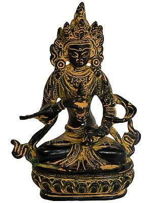Vajrasattva, Deeply Meditative The Composure Of Countenance (Tibetan Buddhist Deity)