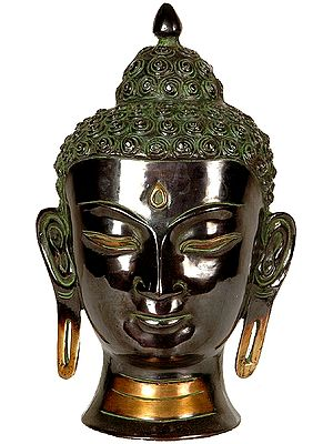 Dazzling Buddha Head