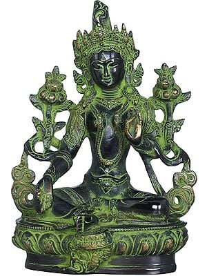 Green Tara, Who Saves You (Tibetan Buddhist Deity)