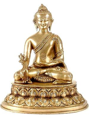 The Dazzling Medicine Buddha Heals You