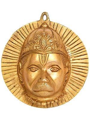 Fierce Hanuman Mask Wall-hanging
